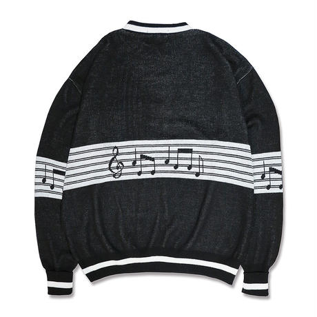 MUSICAL NOTE KNIT JUMPER