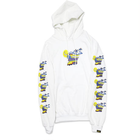 FLYING FUTURE TRAIN HOODY SWEAT