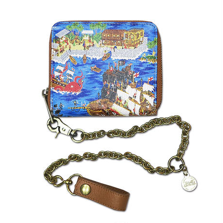 PIRATES ISLAND CHAIN WALLET
