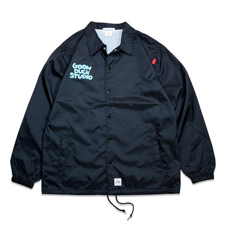 GOONDUCKSTUDIO PINSTRIPE COACH JACKET