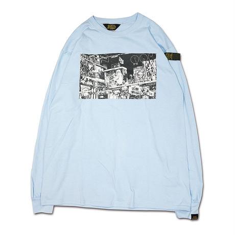 仮想現実LONGSLEEVE T-shirts