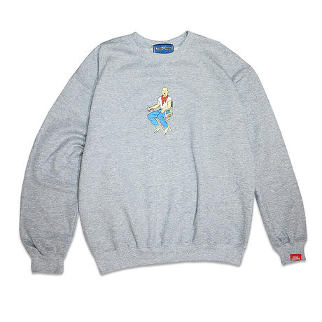 SUNKEN BOXER IN A BREAK CREWNECK SWEAT