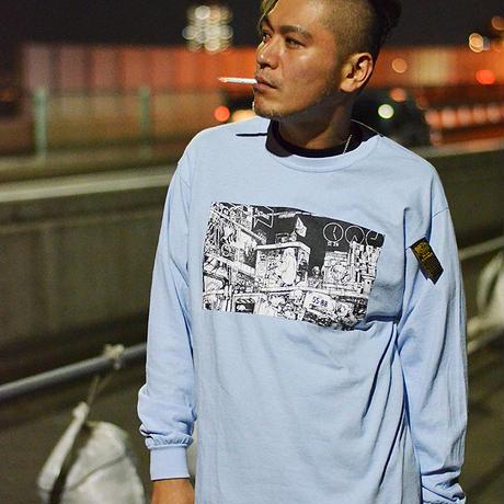 仮想現実LOMGSLEEVE T-shirts