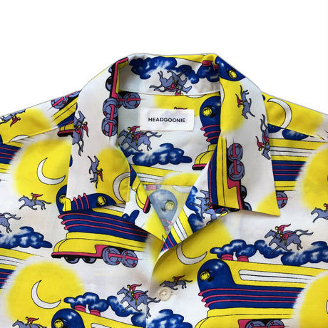 FLYING TRAIN ALOHA SHIRTS