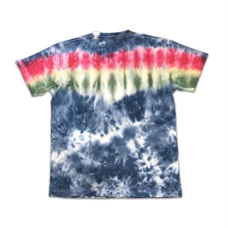 RASTA MOUSE TIE-DYE Tshirts