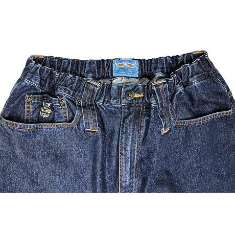 PIRATE BANANA DENIM SHORT PANTS