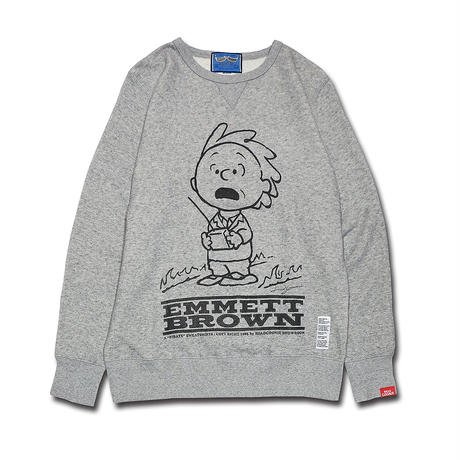 EMMETTBROWN VINTAGE TYPE CREWNECK SWEAT