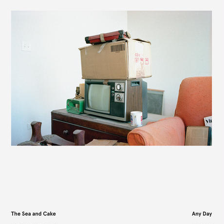The Sea and Cake(ザ・シー・アンド・ケイク)『Any Day』 [CD]