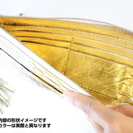 メタトロン宇宙財布/ドラゴン財布/パイソン長財布/LF/18Kゴールドドラゴン×ゴールド
