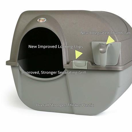 Omega Paw NRA15-1 回転式 清掃機能付き 猫トイレ