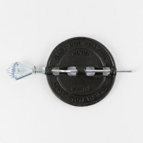 薪ストーブ用 後付煙突ダンパー(6インチ)