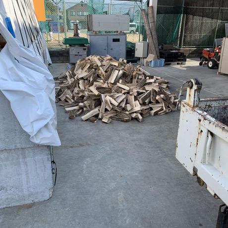 コナラ・クヌギ 薪 35cm 100kg(熱処理・愛媛在庫)