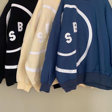 LSB Smile sweat crew top