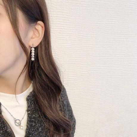 asymmetry Pearl ピアス