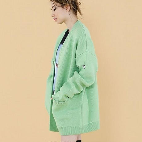 One color cardigan