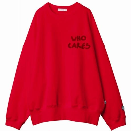 Who cares stitch sweat top