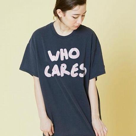 Who cares tee