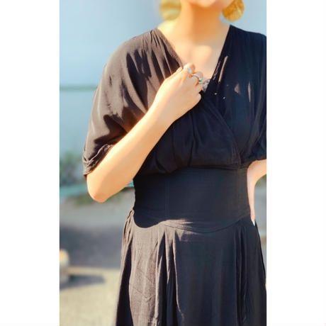 DAZZLE・Color Cache Coeur Long Dress