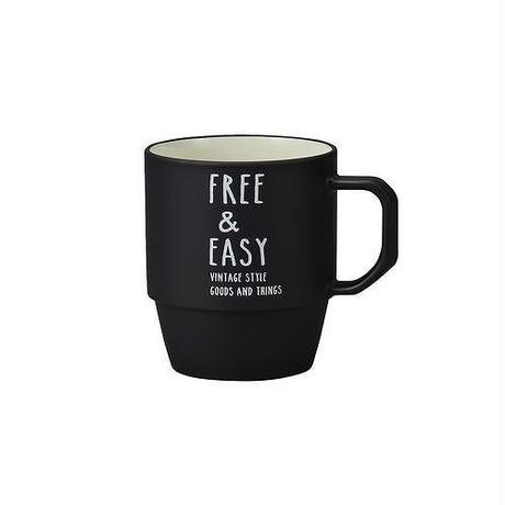 FREE&EASY マグカップ