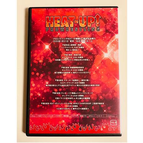 【新作DVD】HEAT-UP DVD Vol.106 2020.1.31 旗揚げ7周年記念大会