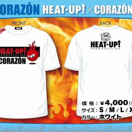 【Tシャツ】HEAT-UP×コラソンコラボ【残りわずか】