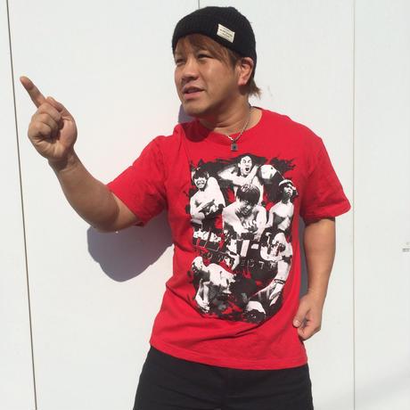 【発掘!ラスト】HEAT-UPフォトTシャツ【レッド】