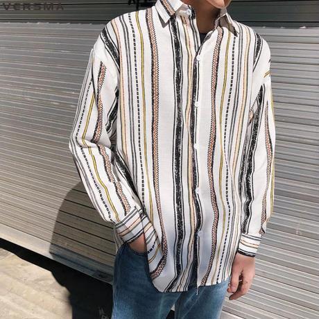 ストリート系メンズシャツ