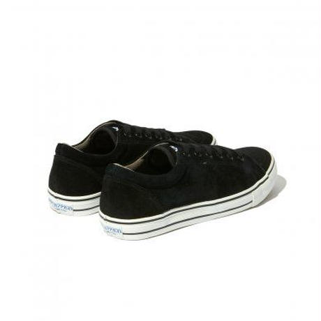 RADIALL × POSSESSED SHOE.CO CONQUISTA - LOW TOP SNEAKER BLACK