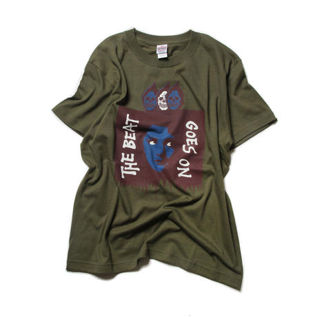 CUTRATE THE BEAT T-SHIRT CITY GREEN