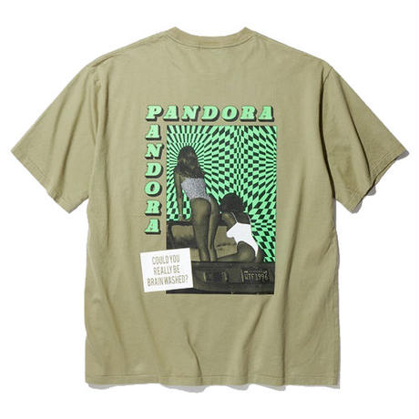 RADIALL     COSMIC GYPSIES - CREW NECK T-SHIRT S/S   OLIVE