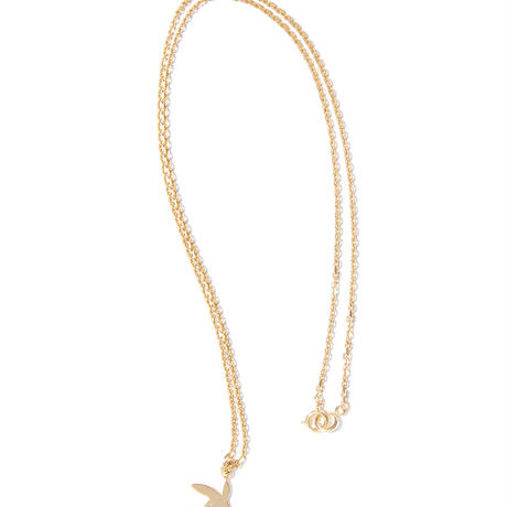 """RADIALL  """"BUNNY"""" NECKLACE 18K PLATE"""