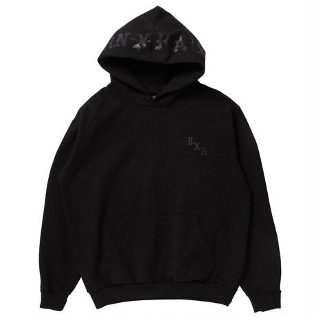 BORN X RAISED BXR TONAL HOODY BLACK #33302