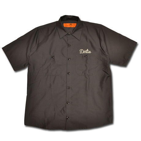 HARDEE NOT SAME WORK SHIRT CHARCOAL
