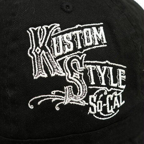 "KUSTOMSTYLE ""DELICIAS"" BOWL HAT BLACK"