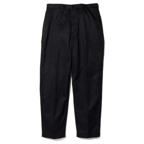 RADIALL CVS WORK PANTS - SLIM FIT BLACK