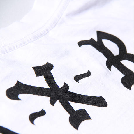 BORN X RAISED BACKSIDE L/S TEE WHITE
