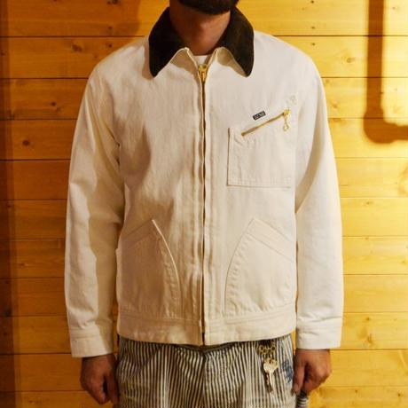 91-B TYPE DENIM JACKET WHITE