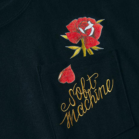 SOFTMACHINE OUT BLOOM-T WHITE
