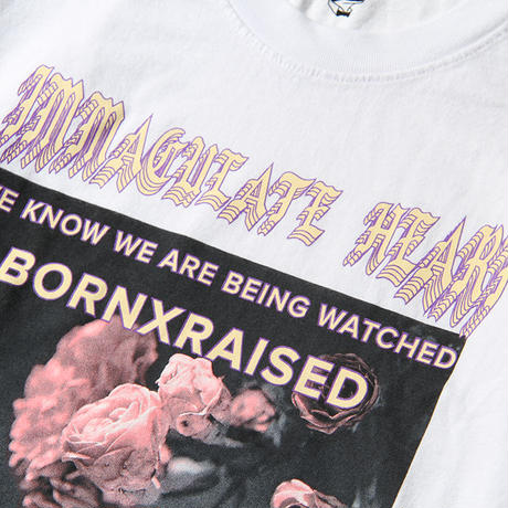 BORN X RAISED CLAYTON L/S TEE