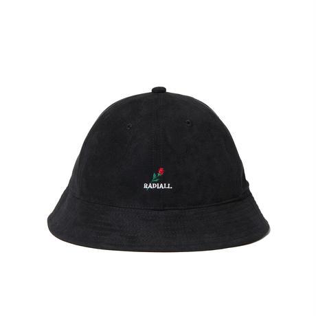 RADIALL  BRICK - BOWL HAT   BLACK