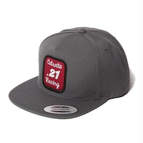 CUT RATE WAPPEN SNAP BACK CAP GRAY CR-16AW042