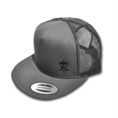 HARDEE NO TRAFFIC MESH CAP GRAY