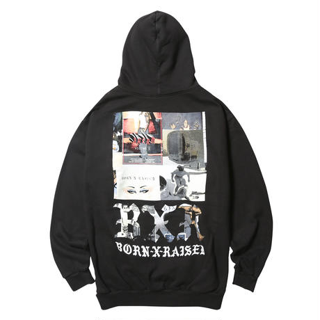 BORN X RAISED ZINE BLAST HOODY