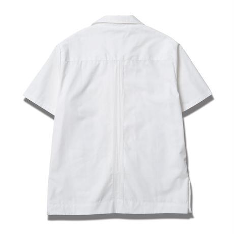 SSDD GUAYABERA SHIRT  WHITE #6313