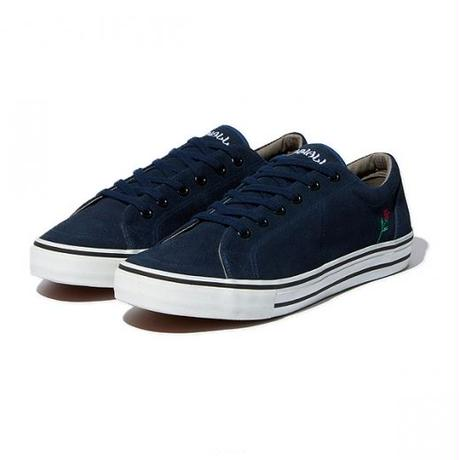 RADIALL × POSSESSED SHOE.CO CONQUISTA - LOW TOP SNEAKER NAVY