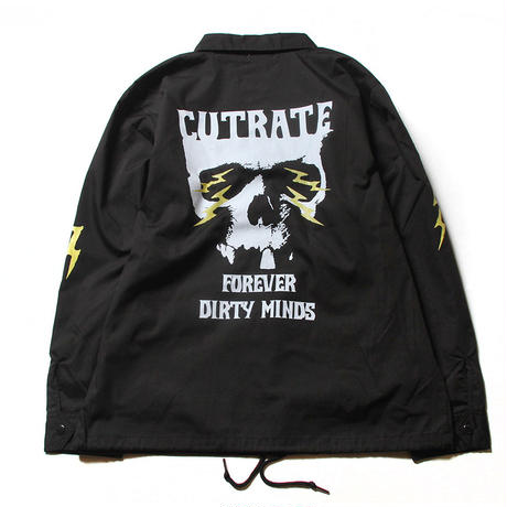 CUTRATE T/C COACH JACKET BLACK