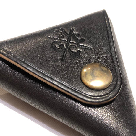 Hardee×GARNET LEATHER COIN CASE BLACK