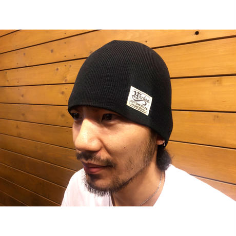 Hardee BOWL Single Beanie BLACK