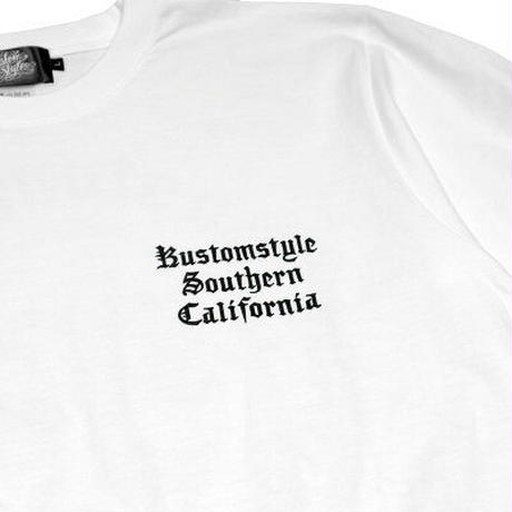 "KUSTOMSTYLE ""HERMANA"" TEE WHITE"