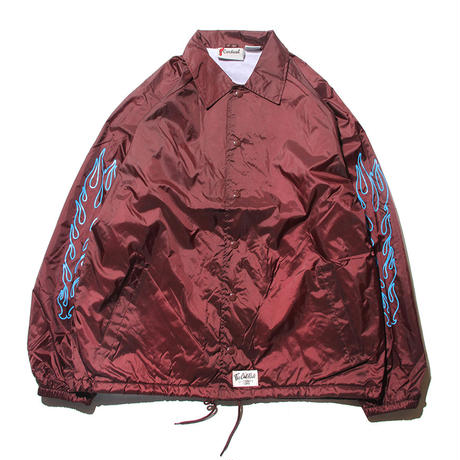 CUTRATE FIRE PATTERN COACH JACKET